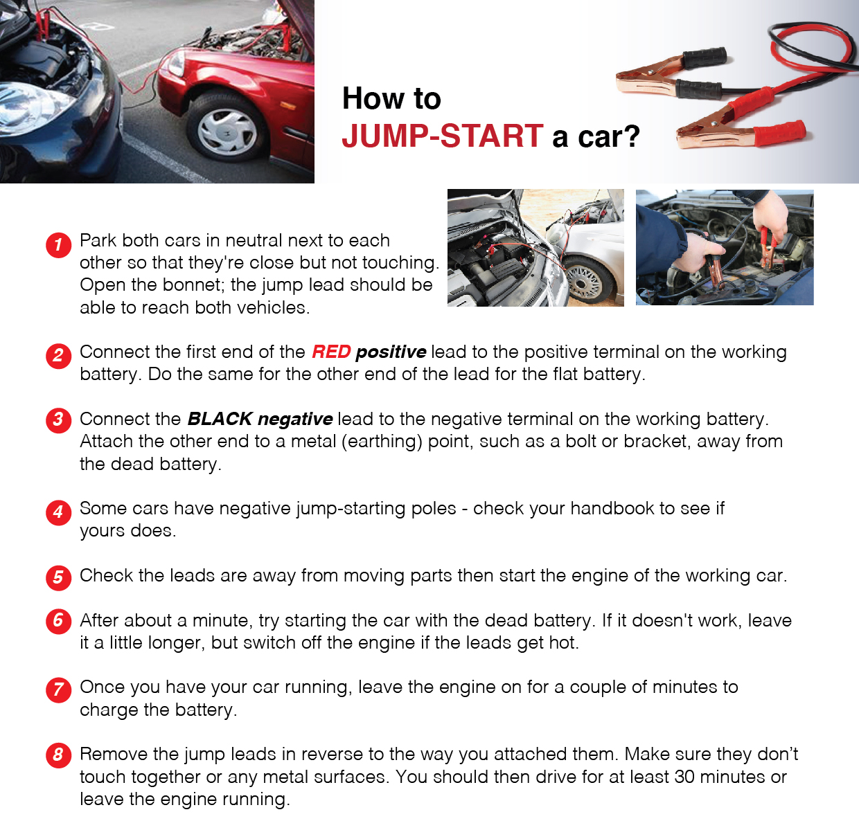 how to jump start a car. Black Bedroom Furniture Sets. Home Design Ideas