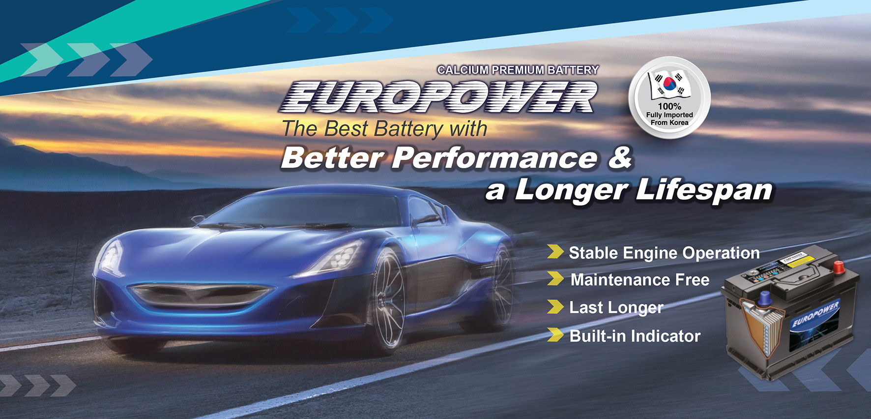 Europower Batteries